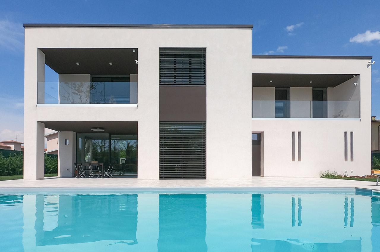 Villa singola con piscina